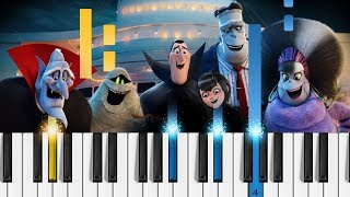 Jonas Blue - I See Love Ft. Joe Jonas - Piano Tutorial Hotel Transylvania 3 Soundtrack