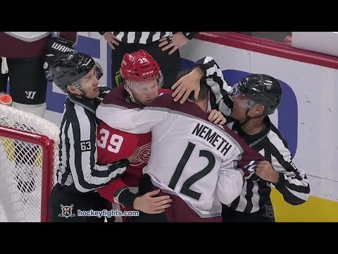 Anthony Mantha vs. Patrik Nemeth