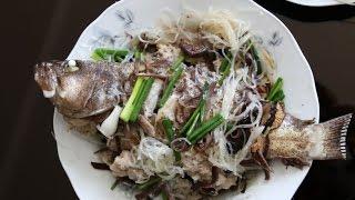 STEAMED FISH Recipe - CÁ HẤP