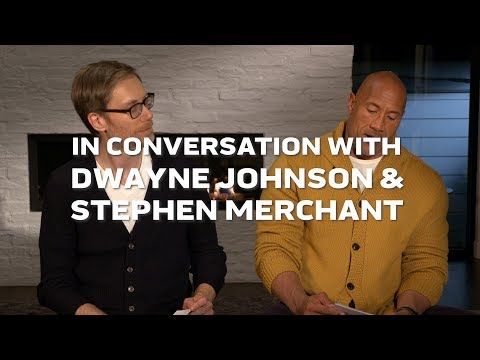 Q&A with Dwayne Johnson & FIGHTING WITH MY FAMILY Director Stephen Merchant