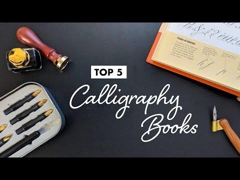 Top 5 CALLIGRAPHY BOOKS!