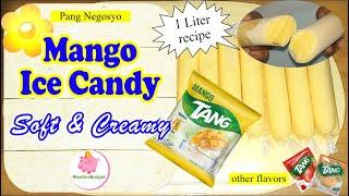 MANGO ICE CANDY Soft & Creamy (Tang Powdered Juice) Part 2 (1 Liter recipe) 2020 ❤️ MissOnaBudget