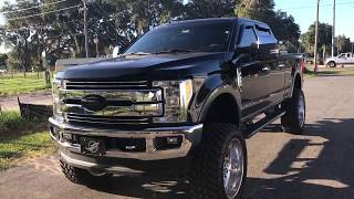 2017 Ford F-250 Lifted 8 Inches On 24x12 And 38/13.5/24