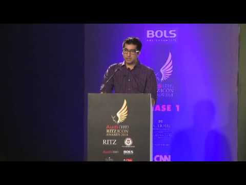 Mithun Sacheti - AUDI RITZ ICON AWARDS (Chennai Edition) - 2014