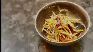 宝塚受験生の代謝アップ・脂肪燃焼レシピ〜きんぴらごぼう〜のサムネイル