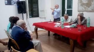 Intervento del prof. RAUL MORDENTI, presso l' ass. la Villetta per Cuba, questo 8 giugno 2018