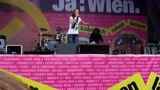 Christina Stürmer & Band - Um bei dir zu sein [Live] @ Wien 2010