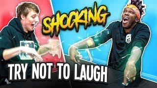 SHOCKING TRY NOT TO LAUGH CHALLENGE