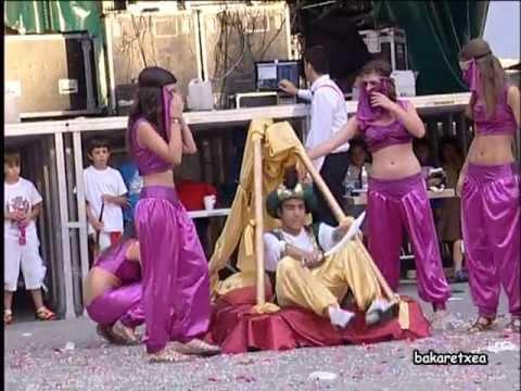 """Disfraces fiestas """"Las mil y una noches"""" Aibar 2012"""