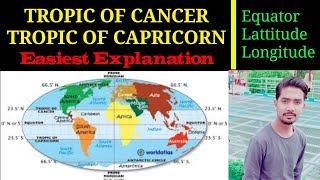 Tropic Of Cancer & Tropic Of Capricorn | Easiest Meaning | Hindi