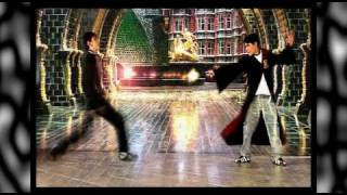Harry Potter and Draco Malfoy dueling in Matias Barbosa