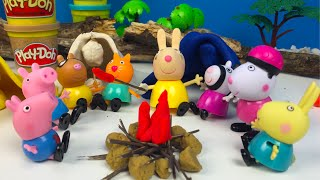 LA EXCURSION DE PEPPA PIG Y SUS AMIGOS  🐽 CAPITULO 2 - CON PLAYDOH CANDY CAT PEDRO PONY GEORGE