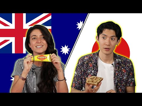 Australian & Japanese People Swap Snacks