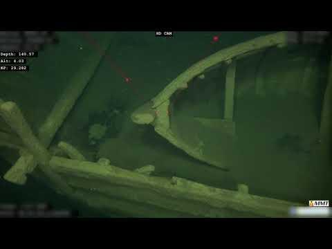 Olupina broda stara 500 godina pronađena na dnu Baltika (VIDEO)