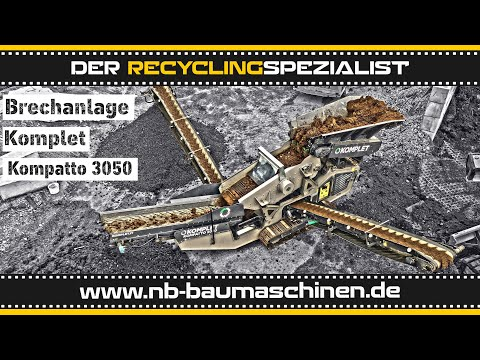 Komplet Siebanlage Raupenmobil KOMPATTO 5030 - Kettenfahrwerk