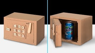 How To Make A Cardboard Code Lock Safe
