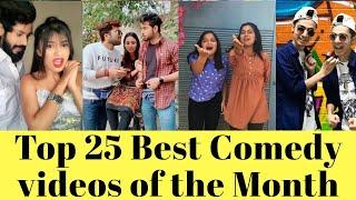 Top 25 Best Comedy Video | Funny Video | Mr Faisu, Awez Darbar, Avneet kaur, Jannat Zubair