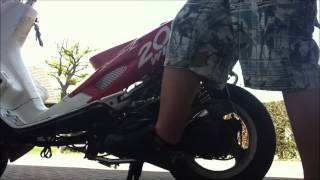 preview picture of video 'Speedfight 2 Airsal T6 70ccm Sport First Run.wmv'