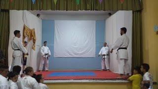 preview picture of video 'Esibizione di karate degli allievi del maestro Tacco di Canicattì'