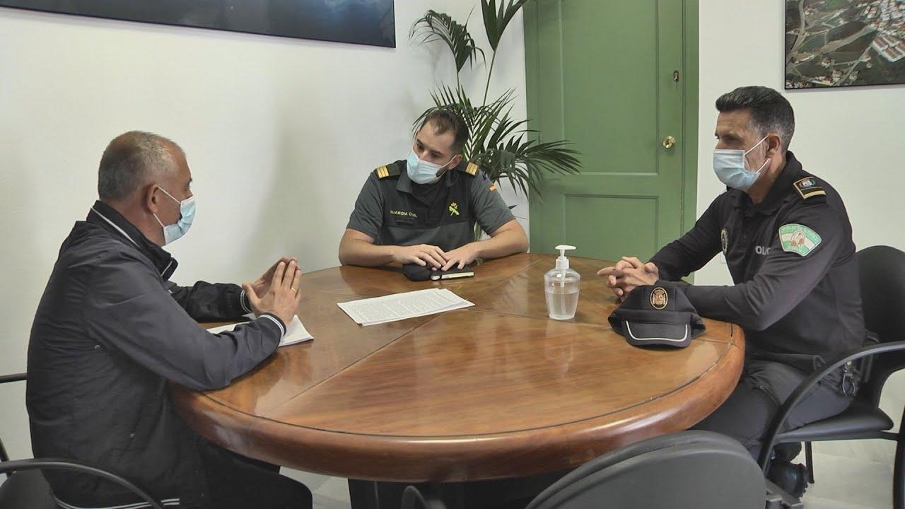 Nuevo sargento jefe de la Guardia Civil de Sabinillas