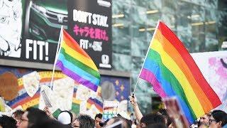 杉田水脈氏の発言に渋谷で抗議デモ