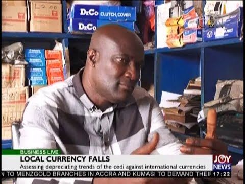 Local Currency Falls - Business Live on JoyNews (13-9-18)