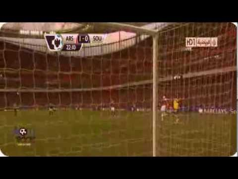 Arsenal vs Southampton 2-0 All Goals & Full Match Highlights (23/11/2013) HD