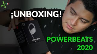 Powerbeats 2020, UNBOXING en México: ¡hasta 15 horas de batería!