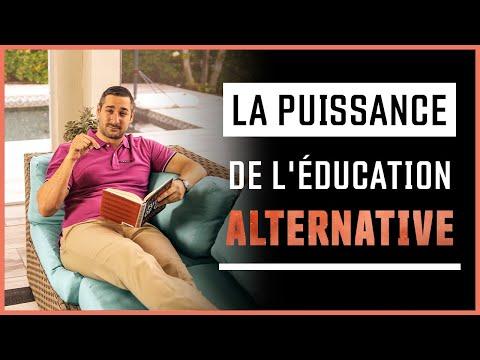 Les avantages de l'éducation alternative