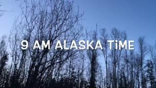 Does it stay dark all winter long in Alaska?