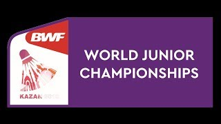 BWF World Junior Championships 2019 - Day2 Court 1-6 of 9