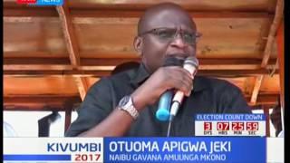 Otuoma apigwa jeki na naibu wa gavana Busia