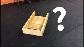 Obedience box for training your dog