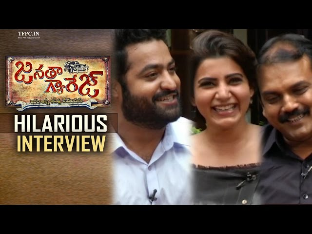 NTR Samantha Koratala Siva Hilarious Interview | Janatha Garage Movie