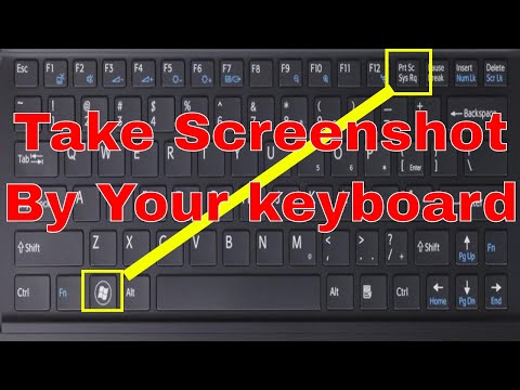 Take Screenshot On windows 7,8,8.1,10