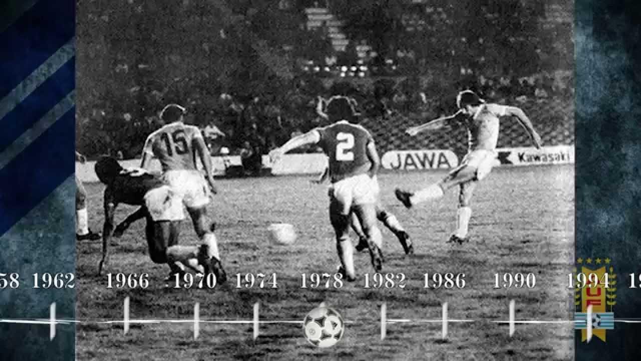 Uruguay en Eliminatorias 1958-2014