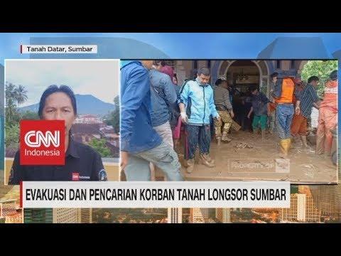 Evakuasi & Pencarian Korban Tanah Longsor Sumbar Terus Dilakukan