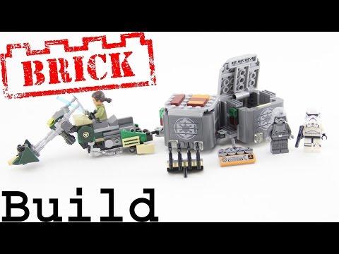 Vidéo LEGO Star Wars 75141 : Le Speeder Bike de Kanan
