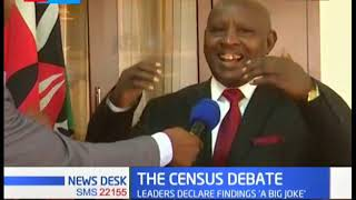 Nyeri Governor, Mutahi Kahiga gives his remarks on the Census Results 2019