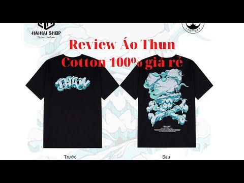 Áo Thun Form Rộng Tay Lỡ Cotton 100% Nguyên Chất - HaiHaiShop