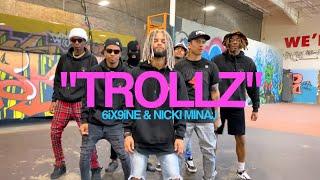 """TROLLZ"" - 6ix9ine & Nicki Minaj | @THEFUTUREKINGZ (Dance Video)"
