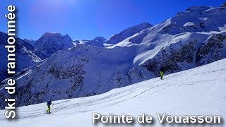 Ski de randonnée : Pointe de Vouasson 3490 m