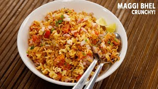 Maggi Bhel Recipe - Instant 5 Minute Snack Noodles CookingShooking