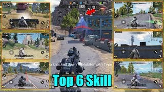 Top 6 Skill In Call Of Duty Mobile - Only 5% Players Know This : Noob Stay Away - Hindi