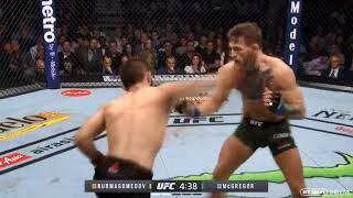 Khabib hurts Conor McGregor with devastating right hand UFC 229