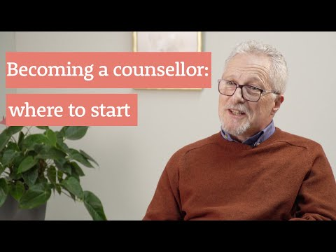 Becoming a counsellor: where to start