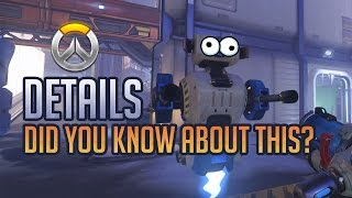 Overwatch Details: Practice Range - Have you notice this before?