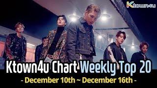 [Ktown4u Chart] Kpop Weekly TOP 20 (December 10th ~ 16th, 2018) #033