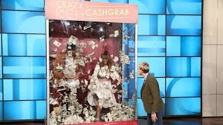 Constance Wu & Henry Golding Have a 'Crazy Rich Cash Grab' - Video Youtube
