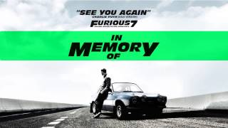 Charlie Puth - See You Again (Solo Version) [Furious7]